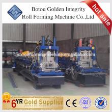 China Metal Structural High Quality Steel Perfil CZ seção Purlin Cold Roll formando máquina