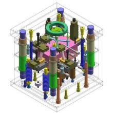 Producto de pieza de plástico Desarrollar molde de inyección personalizado