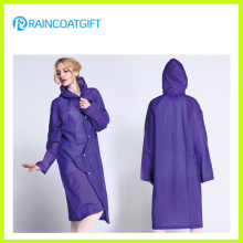 Waterproof EVA Fashion Women′s Raincoat