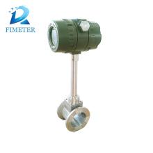 tipo flange da saída do pulso medidor de fluxo do vapor do vortex
