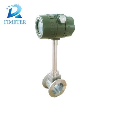 medidor de flujo de vapor vortex tipo brida de salida de pulso