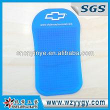 Pvc macio antiderrapante Mat para celular