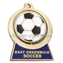 Zink Alloy Custom Design Spinner Medaille - Fußball / Fußball / Sport Event