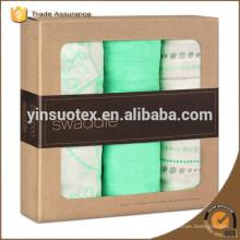 box packed 100 organic cotton muslin beautiful look for newborn baby