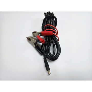 DC5.5 * 2.5 Stecker zu Batterie Clamp Cords