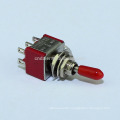 KNX-2-D1 6A 6MM 6 Pin ON ON Two Way Standard Toggle Switch DPDT