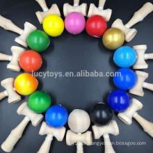 Großhandel spezielle Angebot Qualität billig hölzernes Kendama Spielzeug