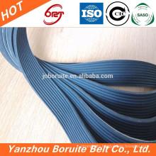 High quality fan belt cogged v belt CR rubber fan belt with best cords
