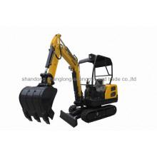 1800kg Mini 0.1m3 Small Excavator with Breaker