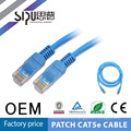 SIPUO alta calidad 1 metro utp 28awg cable patch cable cat5e