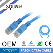 Cable de la cuerda de remiendo SIPUO alta calidad 1 metro utp 24awg cat5e flexible
