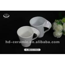 Tasses à café promotionnelles en porcelaine