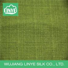 organic polyester linen-like fabric uesd clothing, mattress cover fabric, woven bag fabric