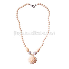 Boho Chic Austrian Crystal Stone Flower Necklace
