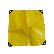 sunproof waterproof printed colourful PE coated tarpaulin with tarp clip
