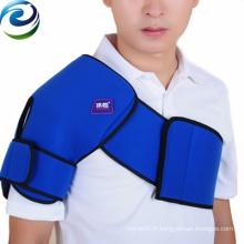 Paquet de glace de gel froid d'épaule de nylon de PVC