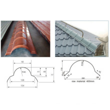Machine de formage de rouleaux de tuiles de toit en métal