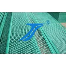 Зеленый цвет панель Расширенная алюминиевая сетка для украшения
