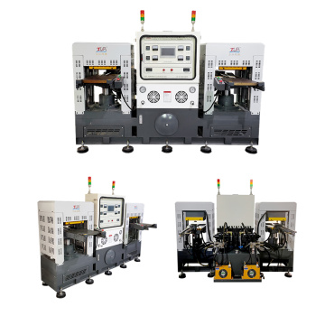 2-heads silicone hydraulic press case machine for sale