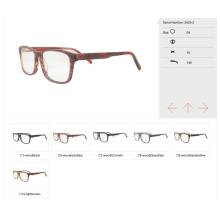 2017 Оптовик Готовый Шток Eyewear Ацетата
