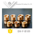 EM-F-B189 Male thread brass plug pipe fitting