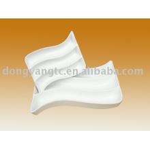 Prato dividido porcelana 11 polegadas de polegada