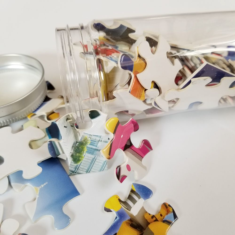Paper Mini Jigsaw Puzzle Game