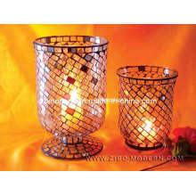 Элегантные мозаичные подставки для свечей (Zibo Modern)