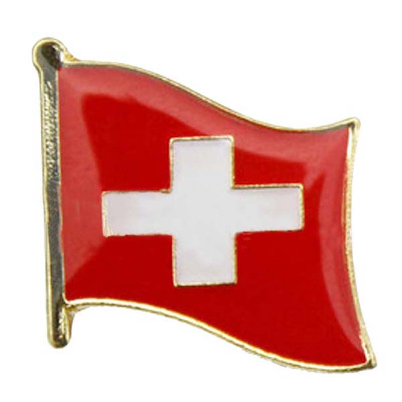 Switzerland Flag Pin
