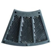 Piezas de la pantalla de acero inoxidable para maquinaria de proceso