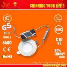 vente chaude! 2014 nouveau design Ultra mince 7w led light panel