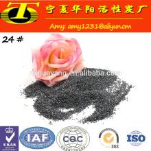 SiC 98.5% réfractaire et matériaux abrasifs grain de carbure de silicium