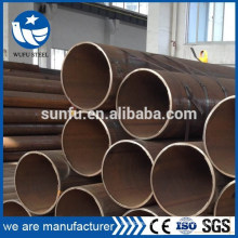 High quality welded carbon LSAW S235JR steel pipe with ISO