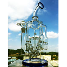 Enjoylife 2016 New Wholesale Recycler Borosilicate Material Glass Water Pipe with Factory Price