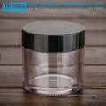 KJ-A Serie 5-100g PETG Material dicke Wand runden durchsichtigen Kunststoff Glas mit Deckel