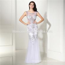Women chiffon Party Dresses Sexy half sleeve white lace Maxi Long Dress long zip Skirt Evening Dresses