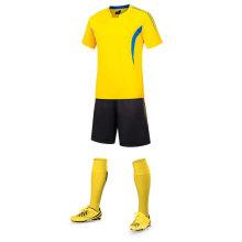 Haute qualité 100% polyester football jersey uniforme de football nouveau design maillot de football