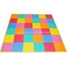 Foam Solid Kid's Puzzle Solid Play Floor Tapete