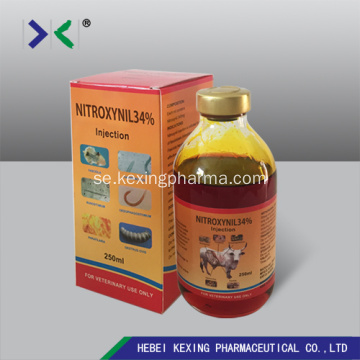 Animal Nitroxinil Injction 34%