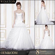 New arrival product wholesale bridal dress cusomized alibaba