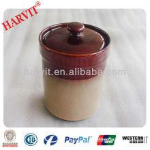 ceramic container for tea or sugar storage