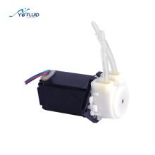 YW01-STEP Electric power 12v stepper motor mini peristaltic pump