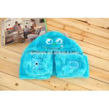 Felpa de animales de peluche animal bufanda de la señora imprimir cálida bufanda