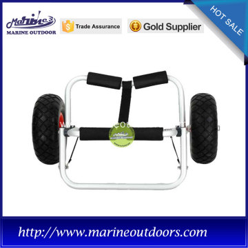 Trailer trolley, PU wheels for boat trolley, Practical aluminium cart