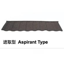 Aspirant Type Stone Coated Metal Roof Tile