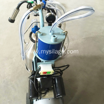 power-driven piston typed milking machine