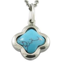 Pendentif en gros de bijoux en pierre naturelle turquoise en pierre