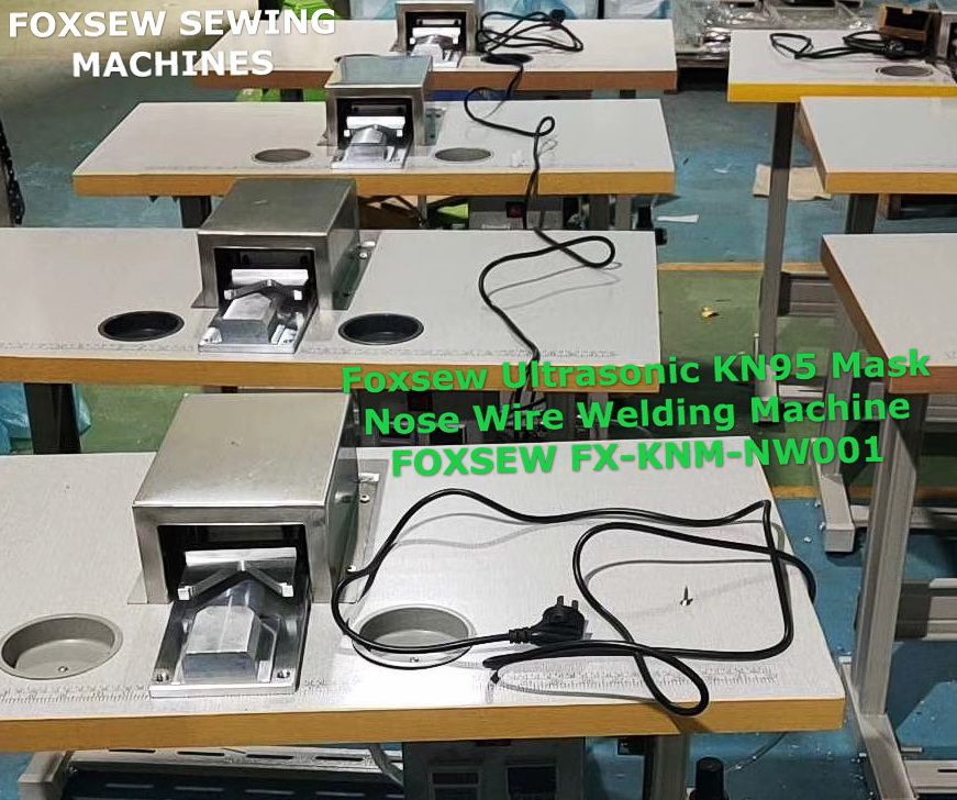 Ultrasonic KN95 Mask Nose Wire Welding Machine FOXSEW FX-KNM-NW001 (2)
