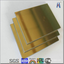 Megabond Silver Surface ACP Aluminum Cladding
