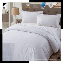 100% хлопок или T / C 50/50 жаккардовый отель / домашний комплект постельных принадлежностей (WS-2016279)
